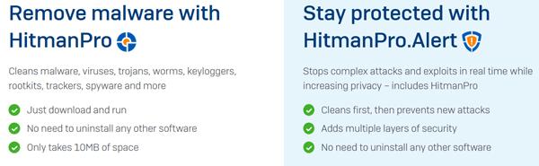 Hitman Pro vs Hitman Pro.Alert